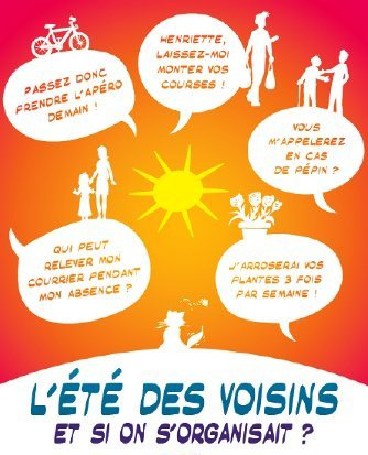 Le Conseil de quartier de Bressoux Droixhe lance l'Été des Voisins