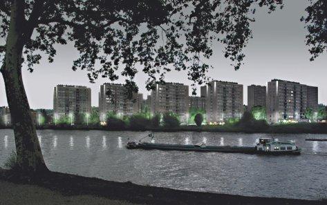 Le projet d'illumination de Droixhe  : un nouveau dossier représenté