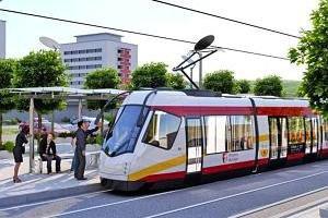 Bressoux Droixhe est séduit par le passage du tram dans le quartier et par l'installation de son dépôt
