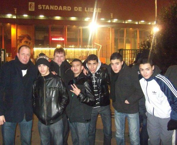 30 jeunes du quartier de Bressoux Droixhe assisteront au match Standard de Liège - Zulte Waregem