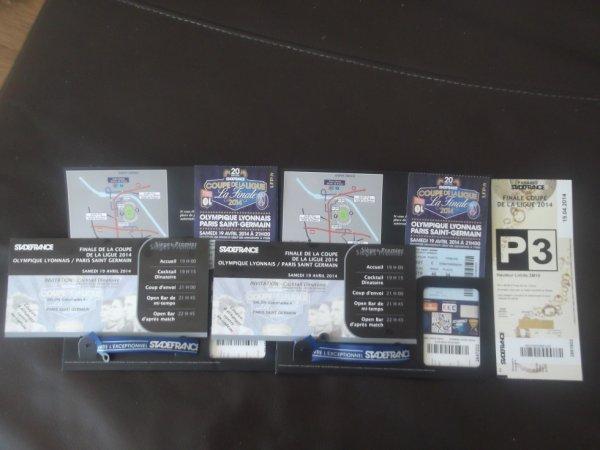 qui veux acheté des billet V.i.P on loge privé..! pour le matche PSGvsOL ,..? Final coup de la lique