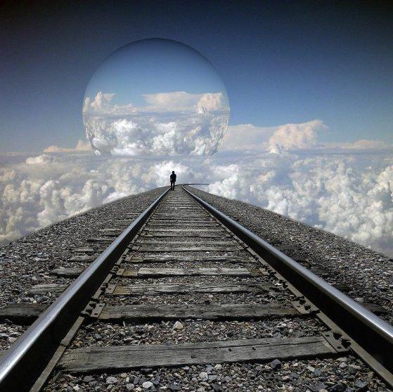 Ma vie... Comme un train qui roule, la monotonie de sa cadence...