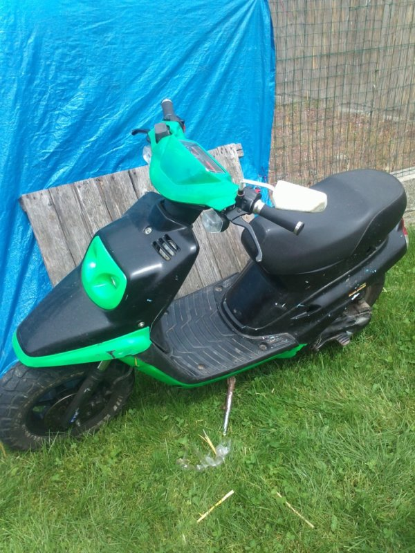voila mon scooter
