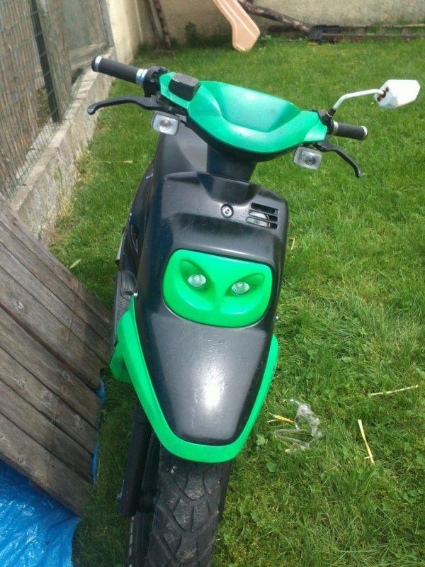 encore mon scooter spirit mbk boosther yamahia