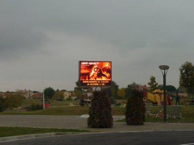 Amon Amarth, Septic Flesh & Dwail au Bascala (Bruguière le 29 octobre 2011)