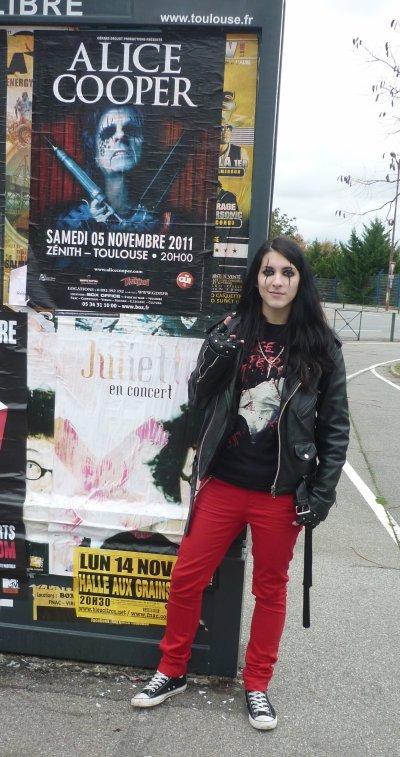 Alice Cooper & The Treatment au Zénith de Toulouse (le 5 novembre 2011)