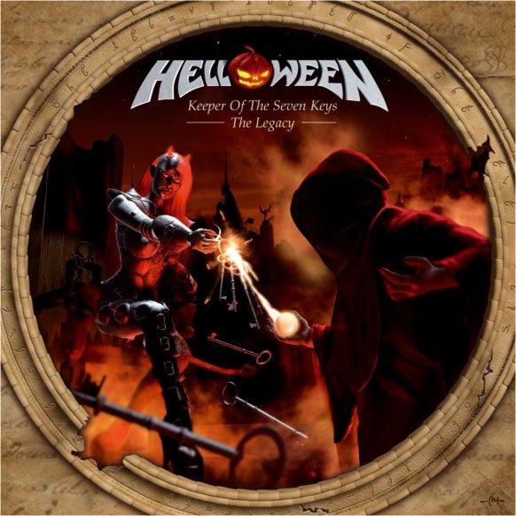 HELLOWEEN - Keerper Of The Seven Keys - The Legacy