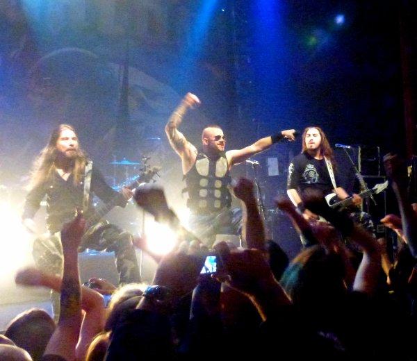 Sabaton, Eluveitie (& Wisdom) à la Button Factory (Dublin le 6 novembre 2012)
