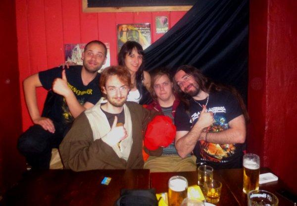 Saxon, Lordi, Decrepit Birth, Cryptosy, Devin Townsend avec des amis et autres fabuleuses aventures (du premier mai au 5 mai 2013 à Dublin)