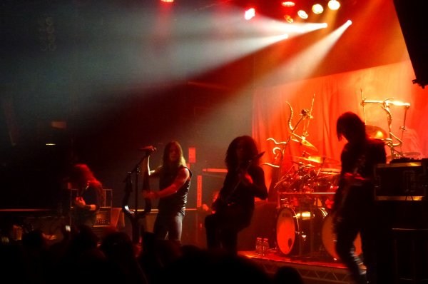 Rotting Christ & Twilight Of The Gods (le 3 novembre au Voodoo Lounge), Satyricon & Chthonic (le 12 novembre à The Academy), Orphaned Land & Khalas (le 15 novembre à The Pint), Death & Obscura (le 27 novembre à The Academy)