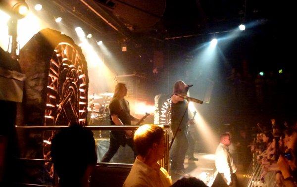 Amon Amarth & Darkest Era (le 13 août à The Academy de Dublin)