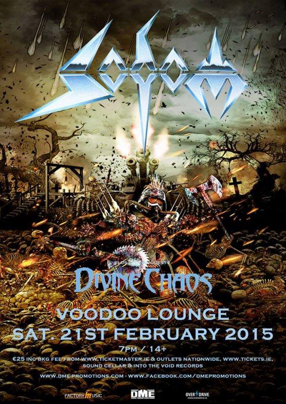 Sodom le 21 février 2015 au Voodoo Lounge