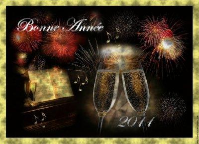 Bonne année à toutes et à tous !!!!!!!