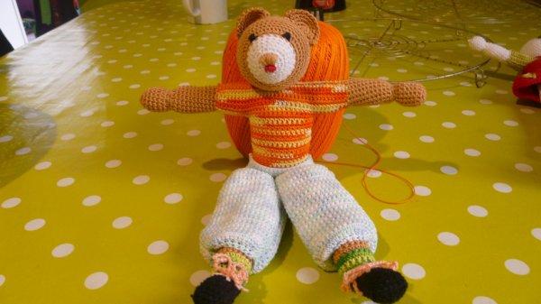 ours en crochet