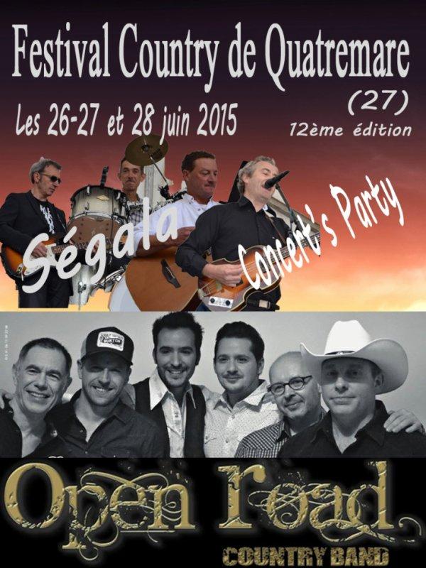 """Festival de Quatremare """"Concert's Party"""""""