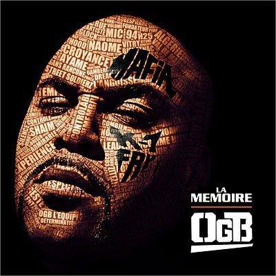 """voici la cover officiel de l'album d'ogb appelee """"la memoire"""" qui devrait sortir le 30 mai"""