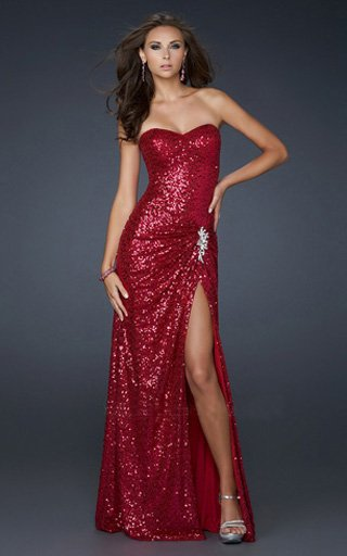 eae33156998 Hottest 4 long sequin dresses for prom night - AliceHan s blog