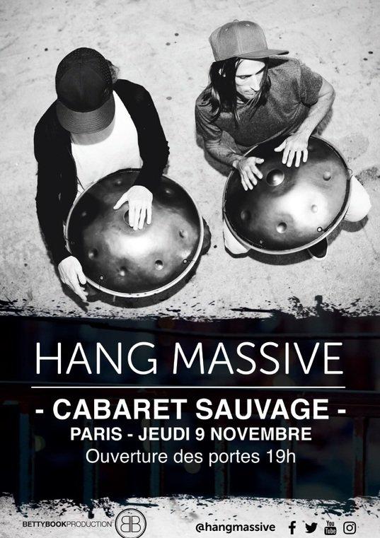 Hang Massive Live in Paris