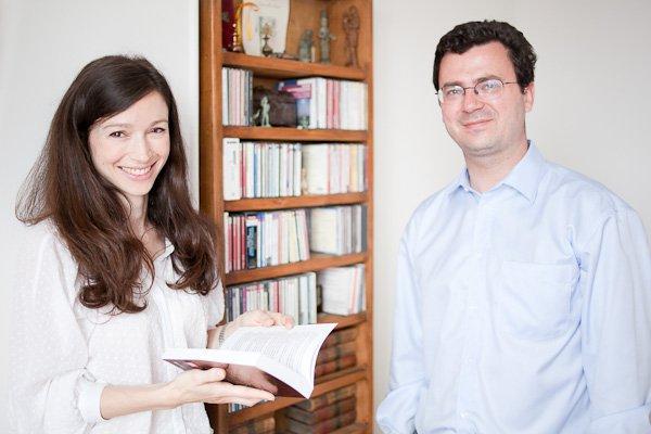 Les auteurs : Benoît & Emmanuelle de Saint Chamas