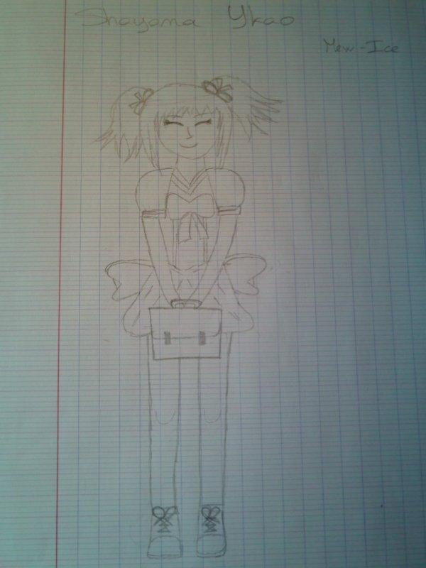 Shayama Ykao en dessin