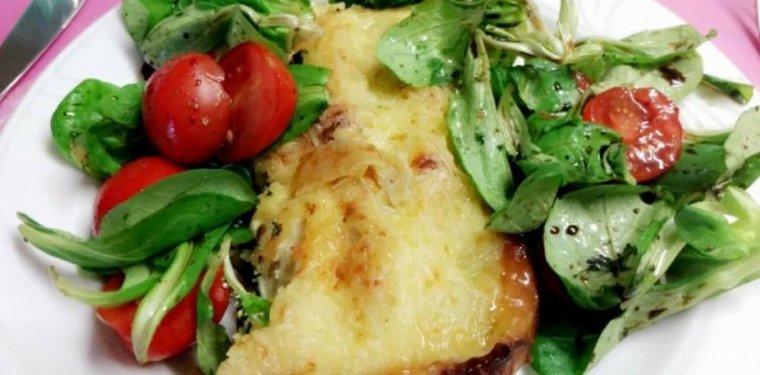 Cannelloni à la ricotta et aux épinards.