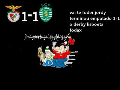 benfica 1 sporting 1