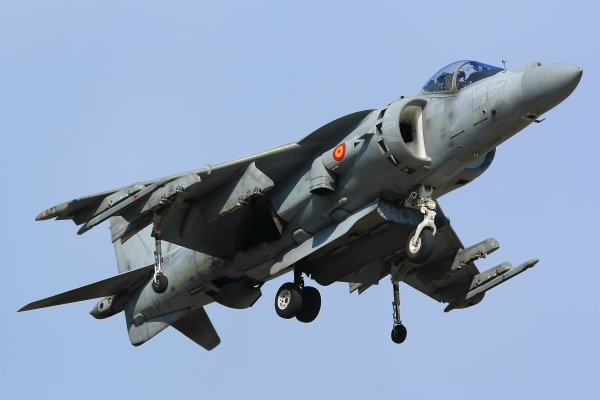 AV-8B Harrier II  Harrier GR Mk 5
