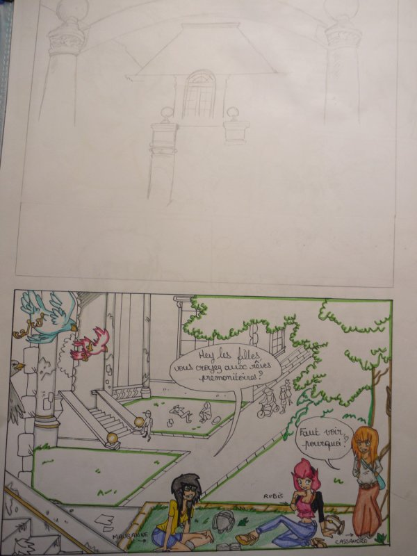 . Premiere Page du Tome 1