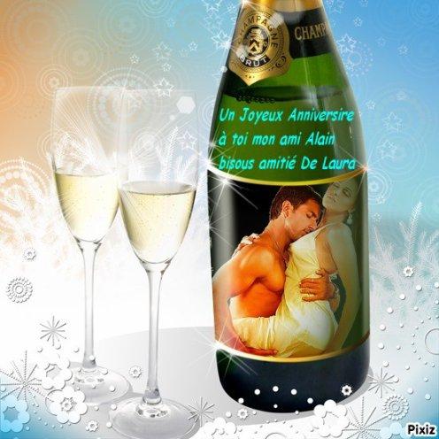 Cadeau pour mon ami alain-damour