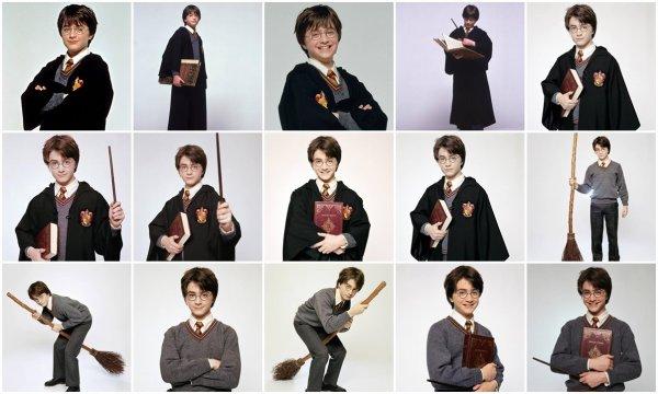 Nouvelles Photos Promotionelles Harry Potter + Vidéo: «Harry Potter dans la vrai vie»