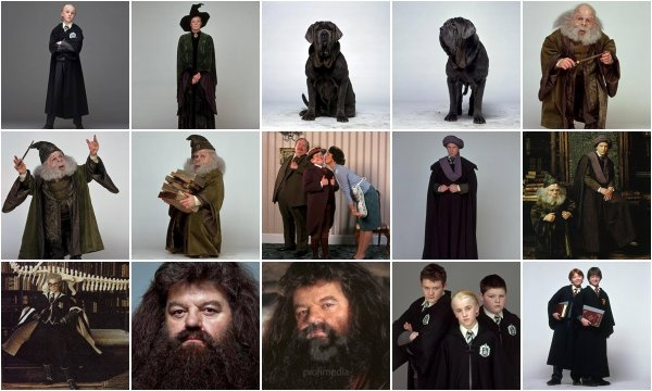 Nouvelles Photos Promotionelles Harry Potter + Faux Racord du film HP1 & HP2