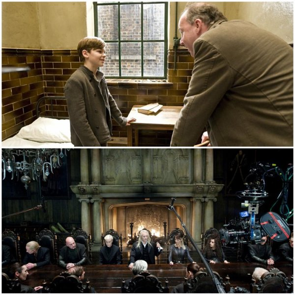 Photos Maquilliage de Daniel Radcliffe + Nouvelles Photos de la saga « Harry Potter »