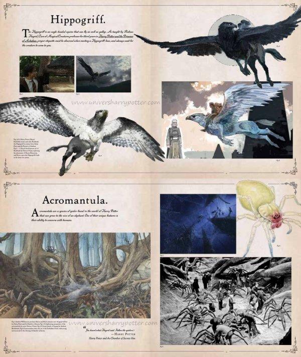 Harry Potter le grand livre des créatures