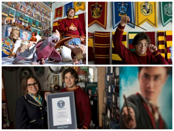 Un collectioneur de la saga « Harry Potter » aux Guisnness des records