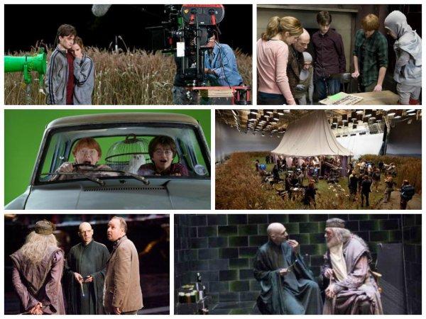 Audiance HP7 Partie 1 sur TF1 + Nouvelles Photos Tournage «Harry Potter»