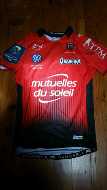 Maillot Rc Toulon 2017 - 2018  #21