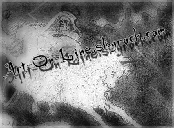 Article n°**  LA MALEDICTION DE LA MORT (dessin datant du collège : 3ème) © Copyright Art-On-Line  ___________________________________________________________________________________________________ [ ^^ Ajouter aux amis ] - [ $-) Ajouter aux favoris ] - [ 8-p Mon Site ] - [ :D Faire tourner ce blog ] - [ :) 1300 ]