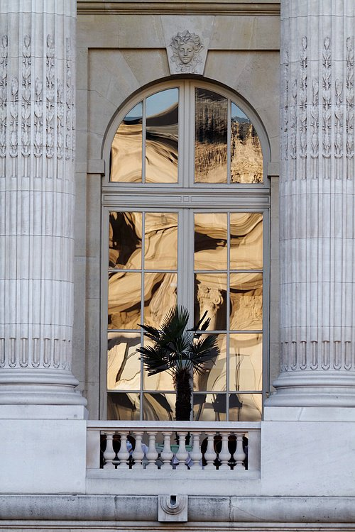 Reflet au petit palais