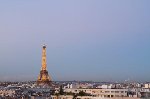 Ciel pur sur Paris ;)