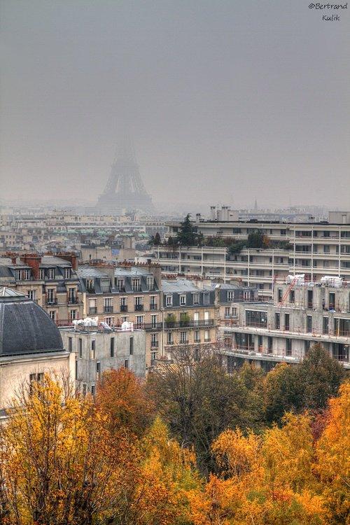 Smog sur Paris