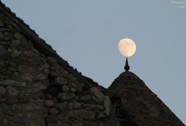 Lune du soir