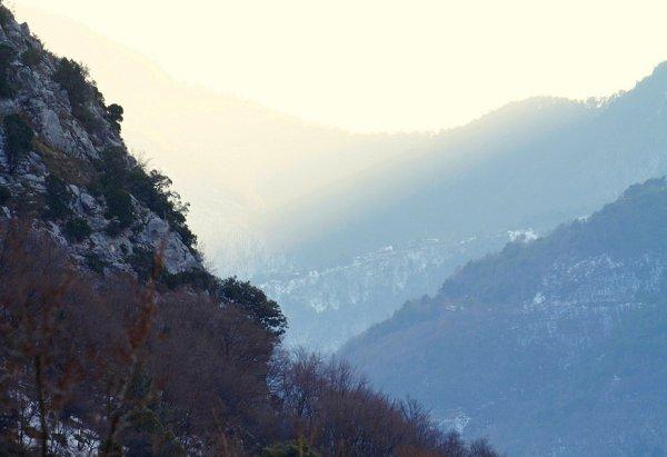 Lumière des montagnes