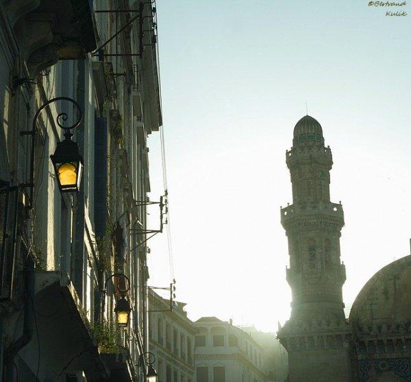 Soleil couchant sur Alger