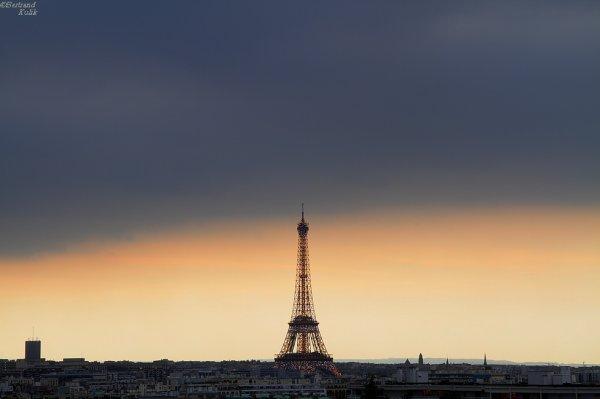 Paris tonight