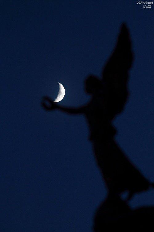 L'ange et la lune