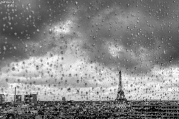 Ambiance sous la pluie