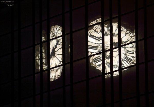 Reflet du temps,Gare de Lyon