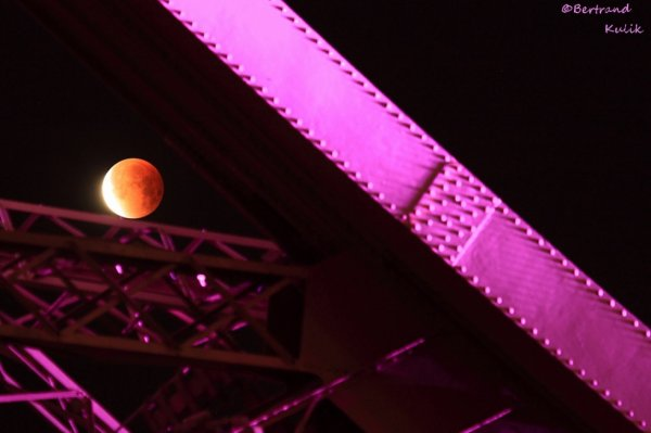 Eclipse sur Paris