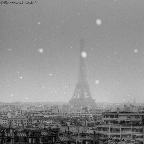 Parisian snowflakes
