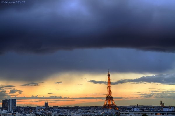 Front nuageux Parisien